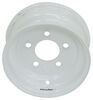 americana trailer tires and wheels wheel only 9 inch steel solid center - x 4 rim 5 on 4-1/2 white