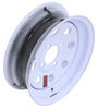 "Dexstar Steel Mini Mod Trailer Wheel - 12"" x 4"" Rim - 4 on 4 - White Powder Coat 4 on 4 Inch AM20140"