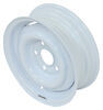 "Dexstar Conventional Steel Wheel with Offset - 13"" x 4-1/2"" Rim - 5 on 4-1/2 - White 5 on 4-1/2 Inch AM20212"