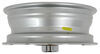 "Aluminum Hi-Spec Series 6 Trailer Wheel - 15"" x 5"" Rim - 5 on 4-1/2 15 Inch AM20455"