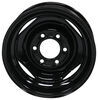 "Dexstar Conventional Steel Wheel - 15"" x 6"" Rim - 6 on 5-1/2 - Black Powder Coat 15 Inch AM20514"