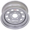 "Dexstar Steel Mini Mod Trailer Wheel - 15"" x 6"" Rim - 5 on 5 - Silver Powder Coat Standard Rust Resistance AM20538DX"