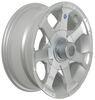 hwt tires and wheels 15 inch 5 on 4-1/2 aluminum hi-spec series 6 trailer wheel - x rim