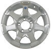 hwt tires and wheels wheel only 15 inch aluminum hi-spec series 6 trailer - x rim 5 on 4-1/2