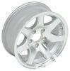 "Aluminum Sendel Series T02 Machined Trailer Wheel - 15"" x 6"" Rim - 5 on 4-1/2 Best Rust Resistance AM22653"