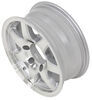 "Aluminum Sendel Series T02 Machined Trailer Wheel - 15"" x 6"" Rim - 6 on 5-1/2 15 Inch AM22654"