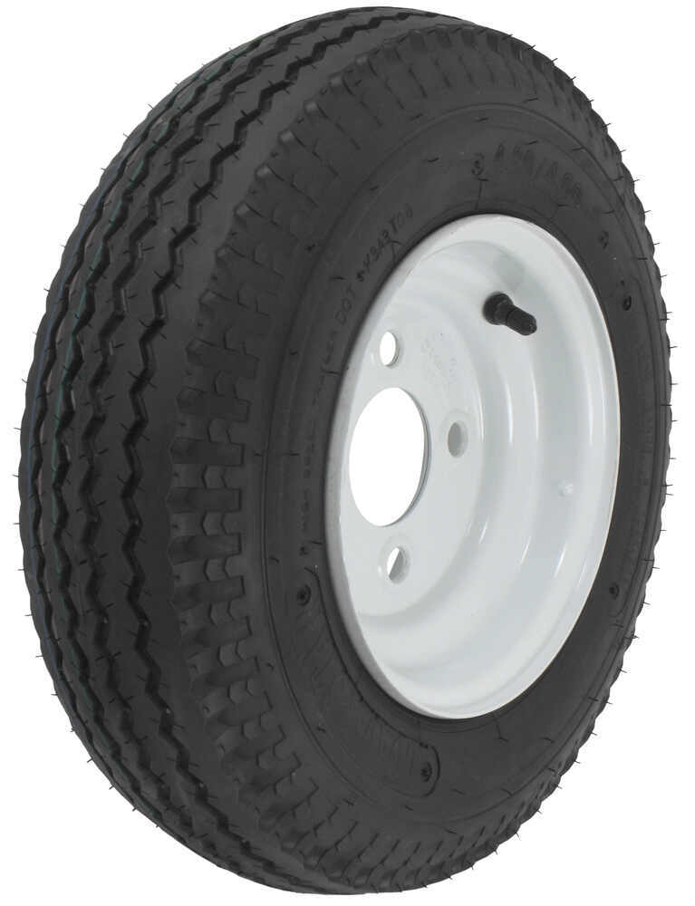 kenda bias trailer tire with 8 white wheel. Black Bedroom Furniture Sets. Home Design Ideas