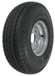 "Kenda 5.70-8 Bias Trailer Tire with 8"" Galvanized Wheel - 4 on 4 - Load Range B"