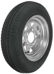 "Loadstar 4.80-12 Bias Trailer Tire with 12"" Galvanized Wheel - 5 on 4-1/2 - Load Range C"