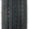 "Loadstar 4.80-12 Bias Trailer Tire with 12"" Galvanized Wheel - 5 on 4-1/2 - Load Range C Good Rust Resistance AM30670"