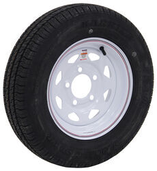 "Kenda Karrier S-Trail ST145/R12 Radial Tire w/ 12"" White Spoke Wheel - 5 on 4-1/2 - LR D"