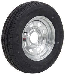 "Kenda Karrier S-Trail ST145/R12 Radial Tire w/ 12"" Galvanized Spoke Wheel - 5 on 4-1/2 - LR D"