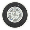 kenda tires and wheels 12 inch 4 on kr25 radial trailer tire with aluminum hwt wheel - load range d