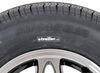 "Kenda KR25 Radial Trailer Tire with 12"" Aluminum HWT Black Wheel - 4 on 4 - Load Range D Aluminum Wheels,Boat Trailer Wheels AM31208HWTB"