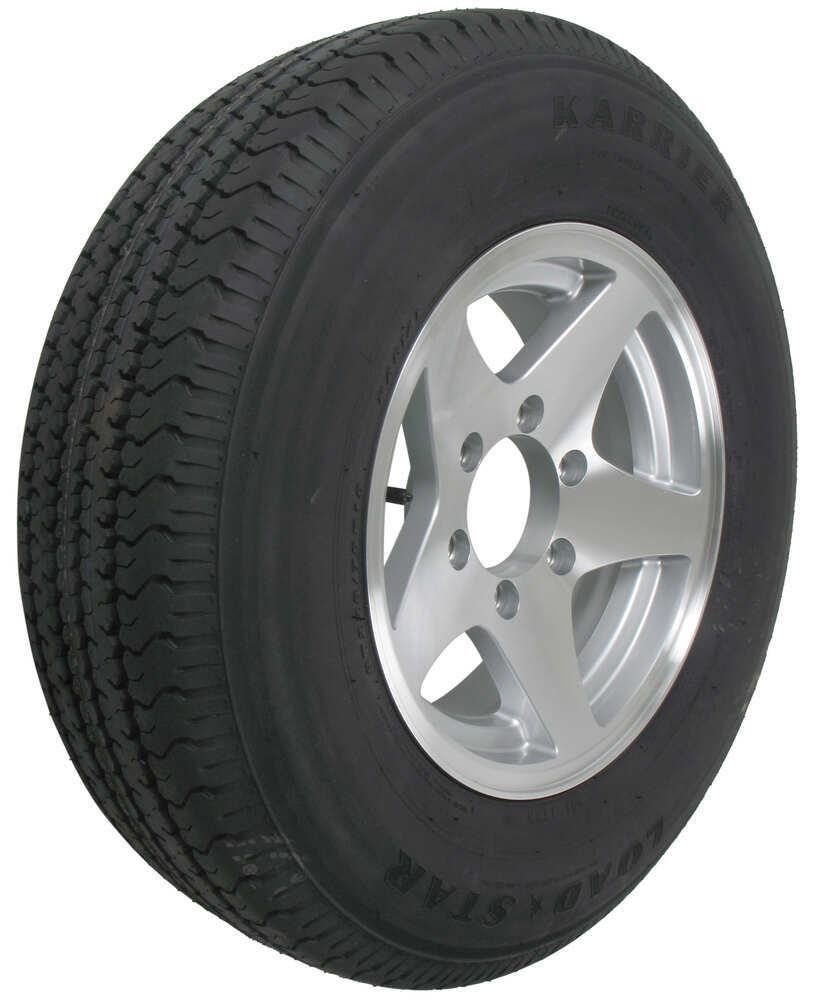 Karrier St225 75r15 Radial Trailer Tire With 15 Aluminum Wheel 6
