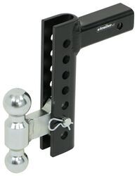 """6/"""" Drop Hitch for 2/"""" Receiver Trailer Ball Mount with 2/"""" Hitch ball set HD"""