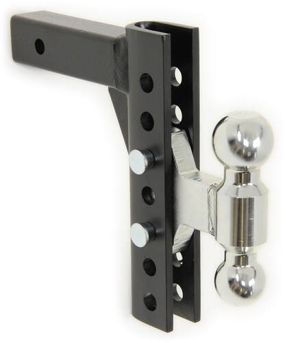- Fits 2 Receivers Made in U.S.A 10 Drop Rigid Hitch Heavy Duty Ball Mount
