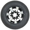 "Kenda ST235/80R16 Radial Trailer Tire w/ 16"" HWT Aluminum Wheel 6 on 5-1/2 - LR E - Black Radial Tire AM34969B"