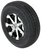 "Kenda ST235/80R16 Radial Trailer Tire w/ 16"" HWT Aluminum Wheel 6 on 5-1/2 - LR E - Black Aluminum Wheels,Boat Trailer Wheels AM34969B"