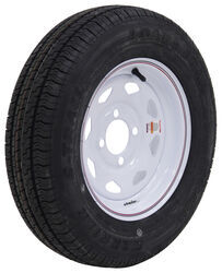 "Kenda Karrier S-Trail ST145/R12 Radial Tire w/ 12"" White Spoke Wheel - 4 on 4 - LR D"