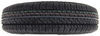 "Kenda Karrier ST145/R12 Radial Trailer Tire with 12"" Black Mod Wheel - 5 on 4-1/2 - LR D 12 Inch AM35354"