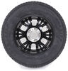 kenda tires and wheels tire with wheel 5 on 4-1/2 inch karrier st205/75r15 radial trailer w/ 15 aluminum - lr c black