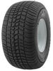 "Kenda 215/60-8 Bias Trailer Tire with 8"" White Wheel - 5 on 4-1/2 - Load Range C Bias Ply Tire AM3H310"