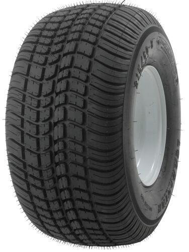 kenda tires and wheels 8 inch 5 on 4-1/2 215/60-8 bias trailer tire with white wheel - load range c