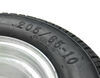 kenda tires and wheels tire with wheel bias ply 205/65-10 trailer 10 inch galvanized - 5 on 4-1/2 load range e