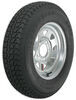 kenda tires and wheels 13 inch 5 on 4-1/2 loadstar st175/80d13 bias trailer tire with galvanized wheel - load range b