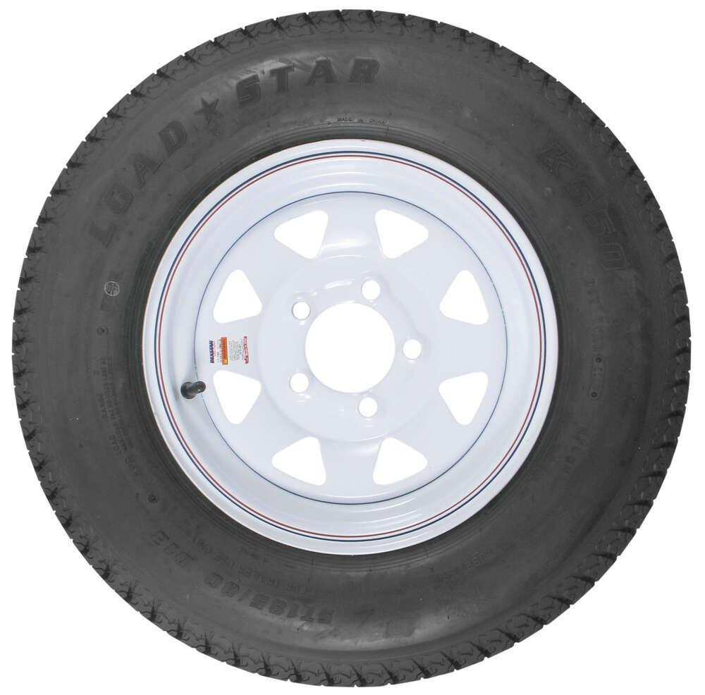 loadstar std bias trailer tire   white wheel     load range  kenda