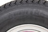 kenda tires and wheels tire with wheel 14 inch loadstar st205/75d14 bias trailer galvanized - 5 on 4-1/2 load range c