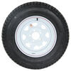 "Loadstar ST205/75D15 Bias Trailer Tire w/ 15"" White Spoke Wheel - 5 on 4-1/2 - Load Range C 15 Inch AM3S640DX"