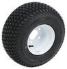 "Kenda K500 SuperTurf Tire with 8"" White Wheel - 5 on 4-1/2 - Load Range B"