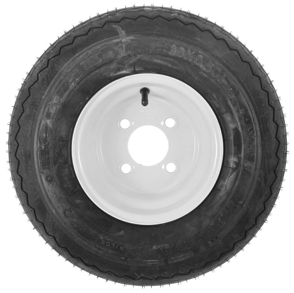 Kenda bias golf cart tire with 8 white wheel for Narrow golf cart