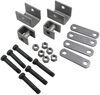 "Single-Axle Trailer Hanger Kit for Double-Eye Springs - 1-1/2"" Front, 7/8"" Rear Single Axle APS1"