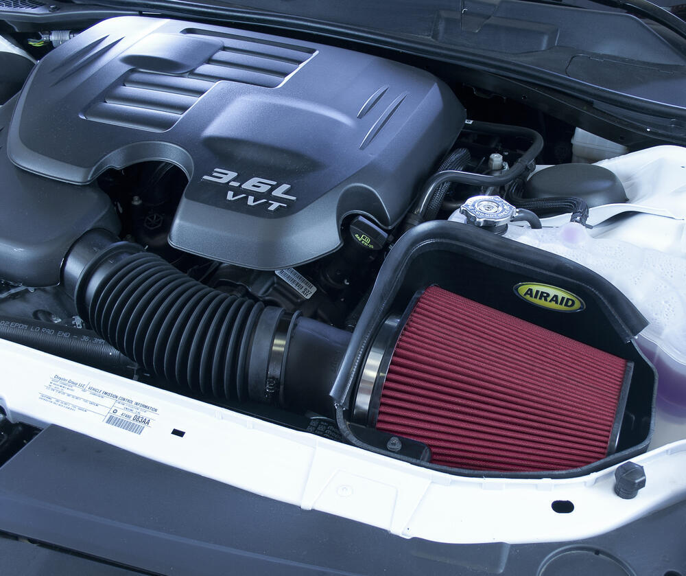 Ar Installed on Dodge Viper Performance Oil Filter