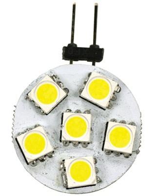 Arcon JC10W LED Disc Bulb - Sub-Miniature 2 Pin Base - 120