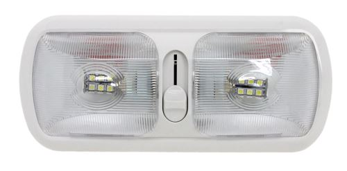 """Euro Style Lighting >> Arcon Euro Style LED Dome Light - Dimmable - 11-1/2"""" x 5"""" - 48 Diodes - Clear Lens Arcon RV ..."""