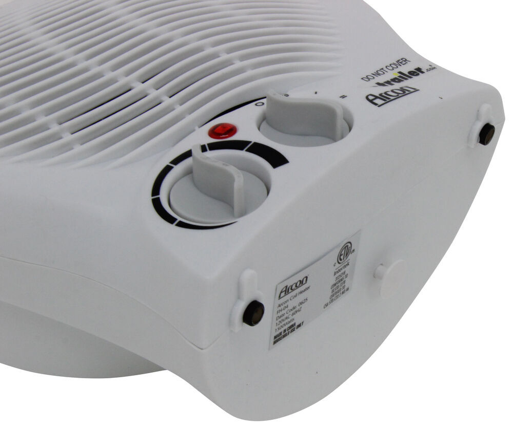 Arcon Portable Electric Heater With Tip Over Safety Switch