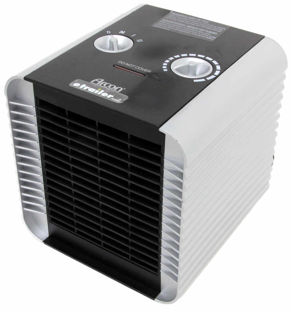 Arcon Compact Ceramic Heater with Tip-Over Safety Switch - 1,500 Watts AR64409