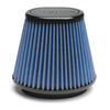 airaid air filter aftermarket intake replacement 2 layers synthamax universal premium engine - dry reusable blue
