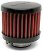 airaid air filter  breather with rubber top - clamp on 1-1/4 inch id