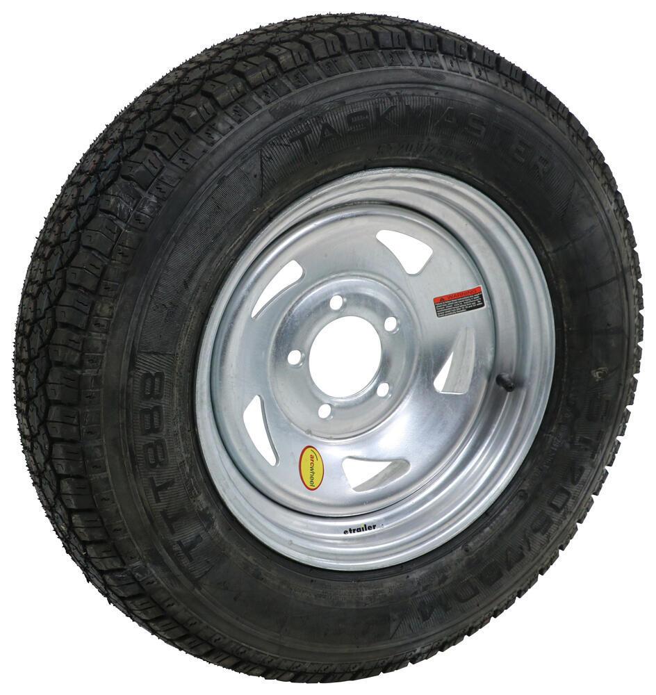 "Taskmaster ST205/75D14 Bias Tire w/ 14"" Galvanized ..."