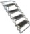 brophy rv and camper steps 4 24 inch wide scissor - aluminum non-slip tread 300 lbs