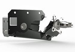 Timbren Axle-Less Trailer Suspension System - Spindle w/Brake Flange - Regular Tires - 1,200 lbs