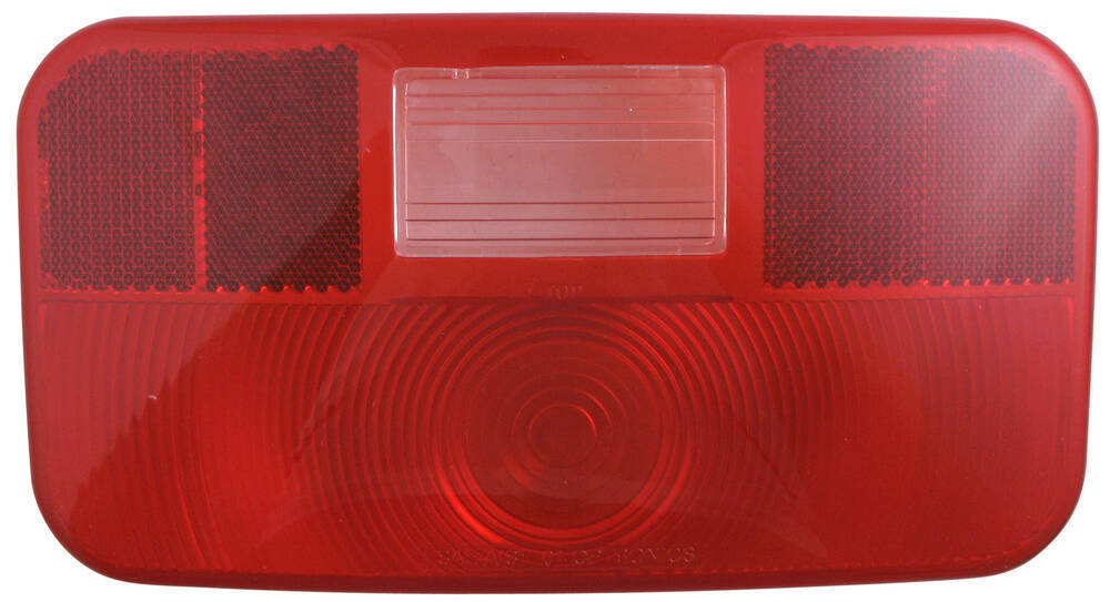 Trailer Tail Light Lens : Replacement tail light lens for rvst optronics