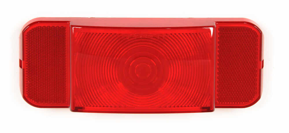 Replacement Lens for RVSTL61 and RVST61 Tail light Rectangle AST61B