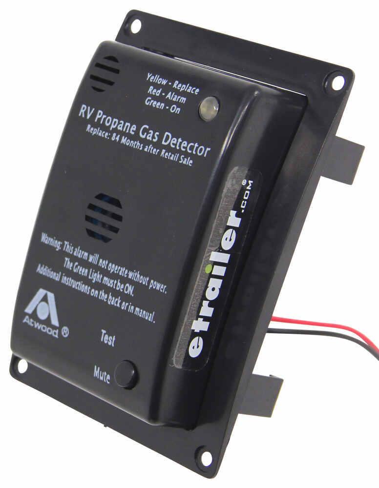 Atwood RV Propane Gas Detector - 12 Volt - Black Atwood RV