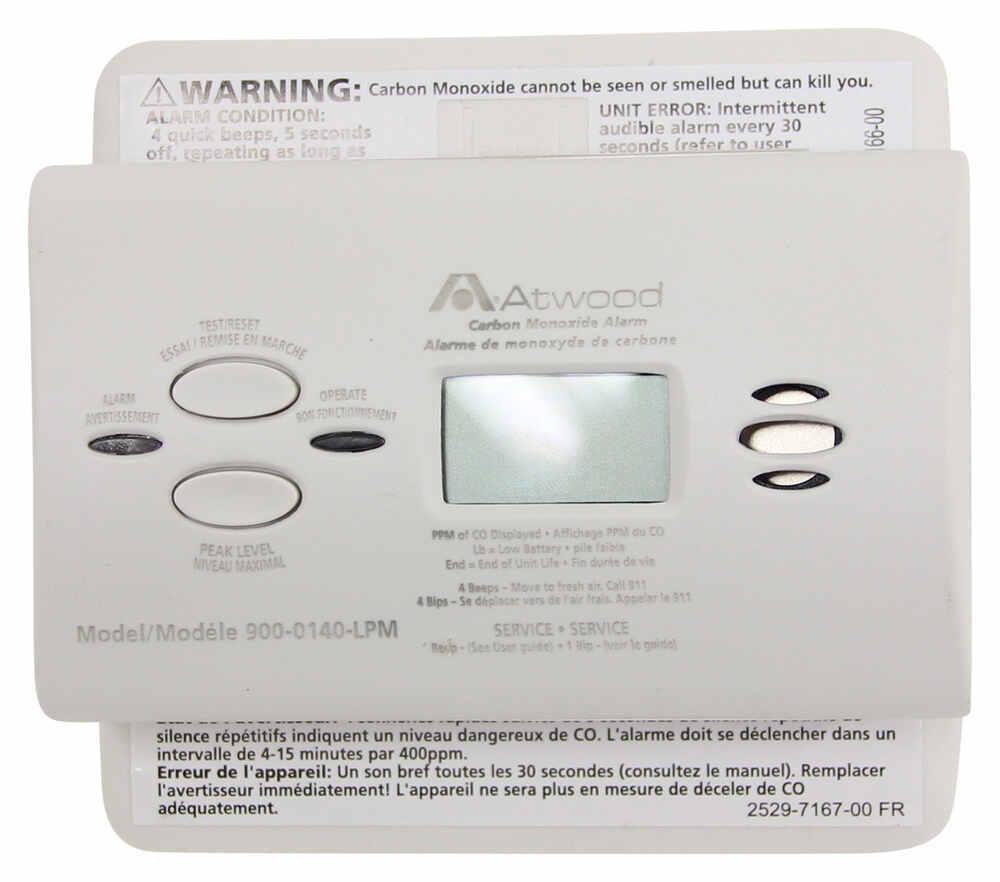 atwood carbon monoxide detector manual